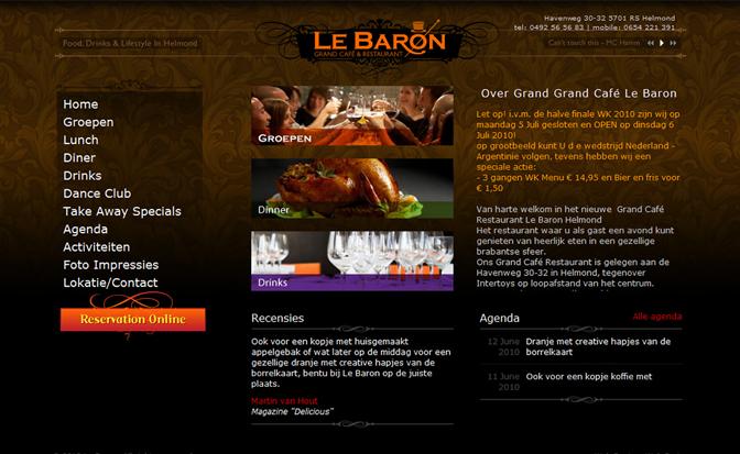GrandCafeLebaron.com